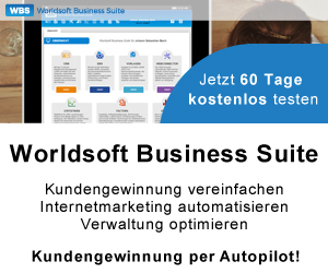 Worldsoft Business Suite (WBS) - Kundengewinnung per Autopilot